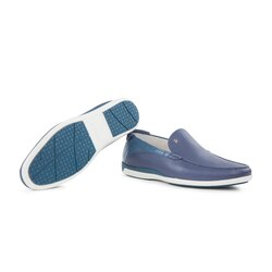 Casual deerskin and crocodile loafers Colour: B025 Size: 8