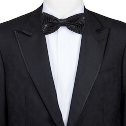Handmade silk bow tie Colour: SW300_001 Size: One Size