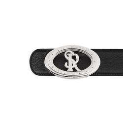 Handmade calfskin leather belt Colour: N999 Size: 95