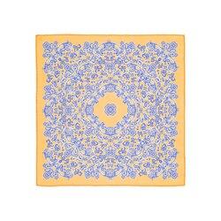 Pochette in seta stampata a mano Colore: FZSR8_9B Taglia: One Size