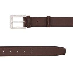 Handmade calfskin leather belt Colour: M033 Size: 120