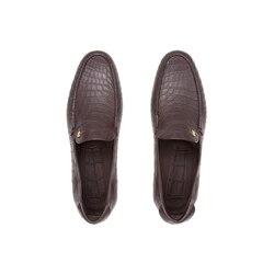 Casual crocodile loafers M022 Size: 5
