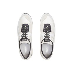 Suede and crocodile olympia sneakers W000 Size: 7