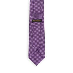 Hand printed silk tie Colour: 27057_001 Size: One Size
