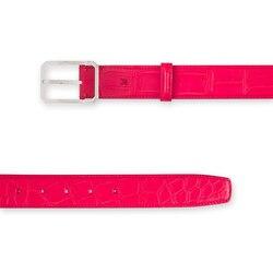 Handmade crocodile belt Colour: R013 Size: 100