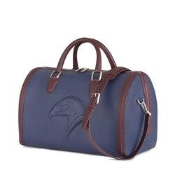 Handmade calfskin duffle bag BR00 Size: One Size