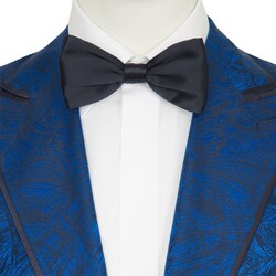 Handmade silk bow tie Colour: UNIR_001 Size: One Size
