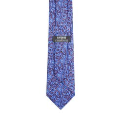 Luxury hand printed silk tie Colour: 25002_002 Size: One Size