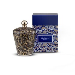 Scented candle blue royal cashmere Colour: 5027 Size: One Size