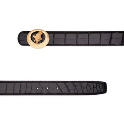 Handmade crocodile belt Colour: N999 Size: 115