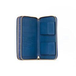 Handmade crocodile travel wallet 5026 Size: One Size