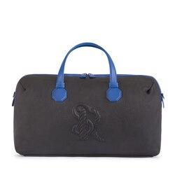 Handmade calfskin leather duffle bag NB01 Size: One Size