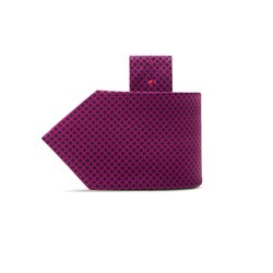 Hand printed silk tie Colour: 27044_002 Size: One Size