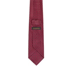 Hand printed silk tie Colour: 27027_001 Size: One Size