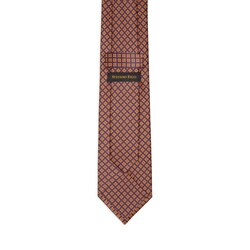 Hand printed silk tie Colour: 25063_001 Size: One Size