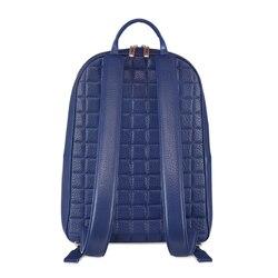 Handmade crocodile and calfskin backpack B036 Size: One Size