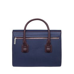 Handmade calfskin leather briefcase Colour: BR00 Size: One Size