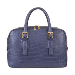 Handmade crocodile document bag Colour: 5013 Size: One Size