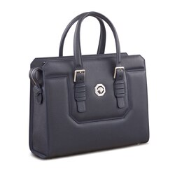 Handmade calfskin business bag Colour: B013 Size: One Size