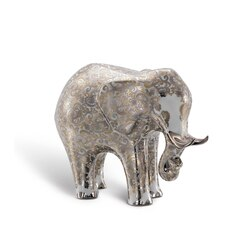 Elefante grande in porcellana luxury silk Colore: 9016 Taglia: One Size