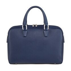 Handmade calfskin business bag B049 Size: One Size
