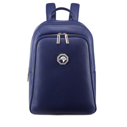 Calfskin leather backpack Colour: B055 Size: One Size