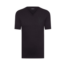 Cord crew neck t-shirt Colour: N999 Size: 5XL