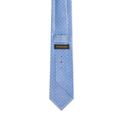 Hand Printed Silk Tie Colour: 35025_012 Size: One Size