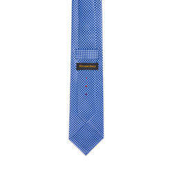 Hand Printed Silk Tie Colour: 35037_003 Size: One Size