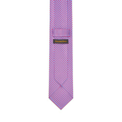 Hand Printed Silk Tie Colour: 35036_001 Size: One Size