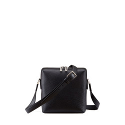 Calfskin Leather Messenger Bag Colour: N999 Size: One Size