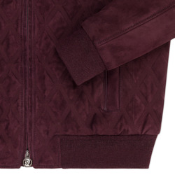 Suede blouson Colour: R021 Size: 52