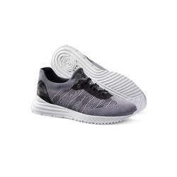SNEAKERS WITH CROCODILE LEATHER DETAILS Colour: N999 Size: 8