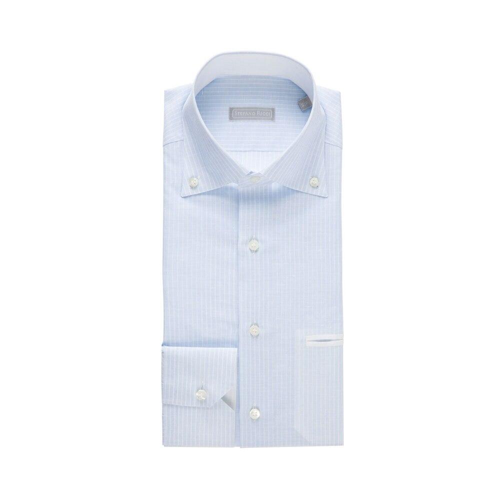 Camicia a righe fatta a mano Size: 39
