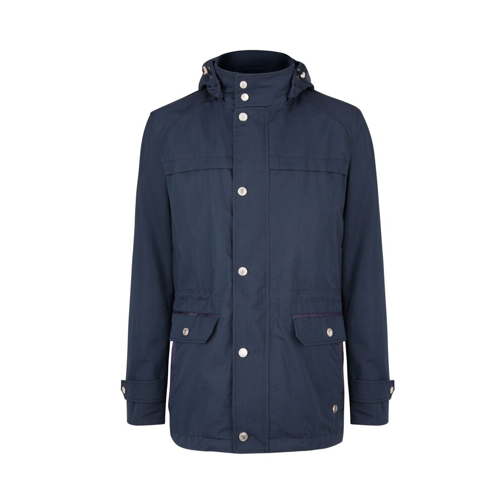 Hooded field jacket Colour: B001 Size: 58
