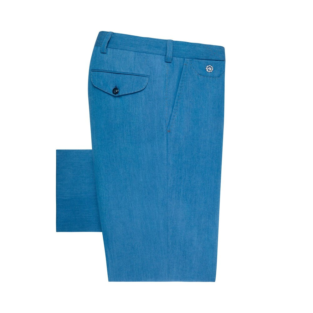 Tailored denim trousers EX1751_002 Size: 54