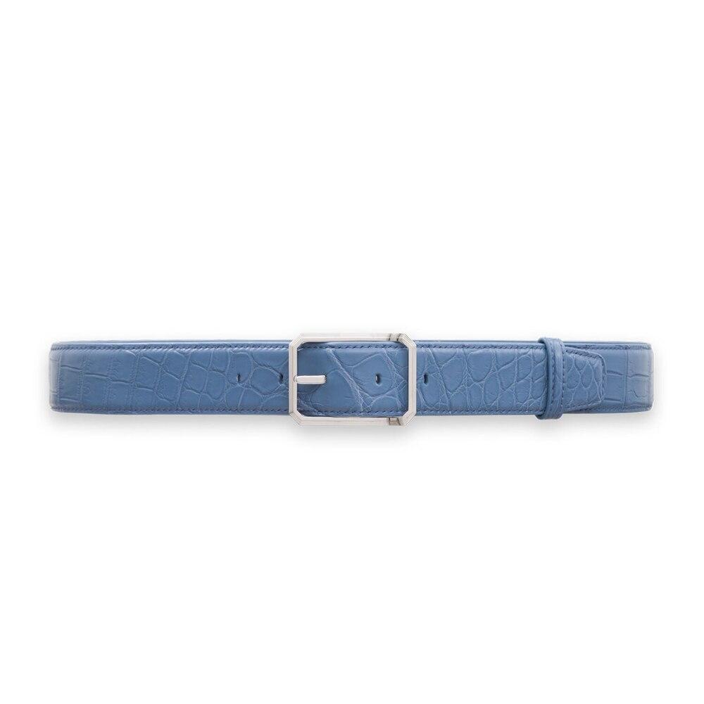 Handmade crocodile belt Colour: B025 Size: 95