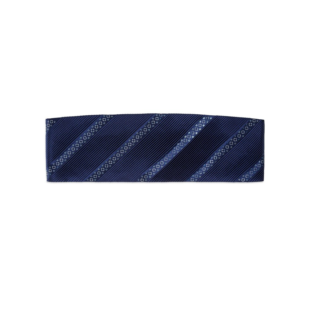 Pleated silk cummerbund with swarovski Colour: SW300_011 Size: 2XL