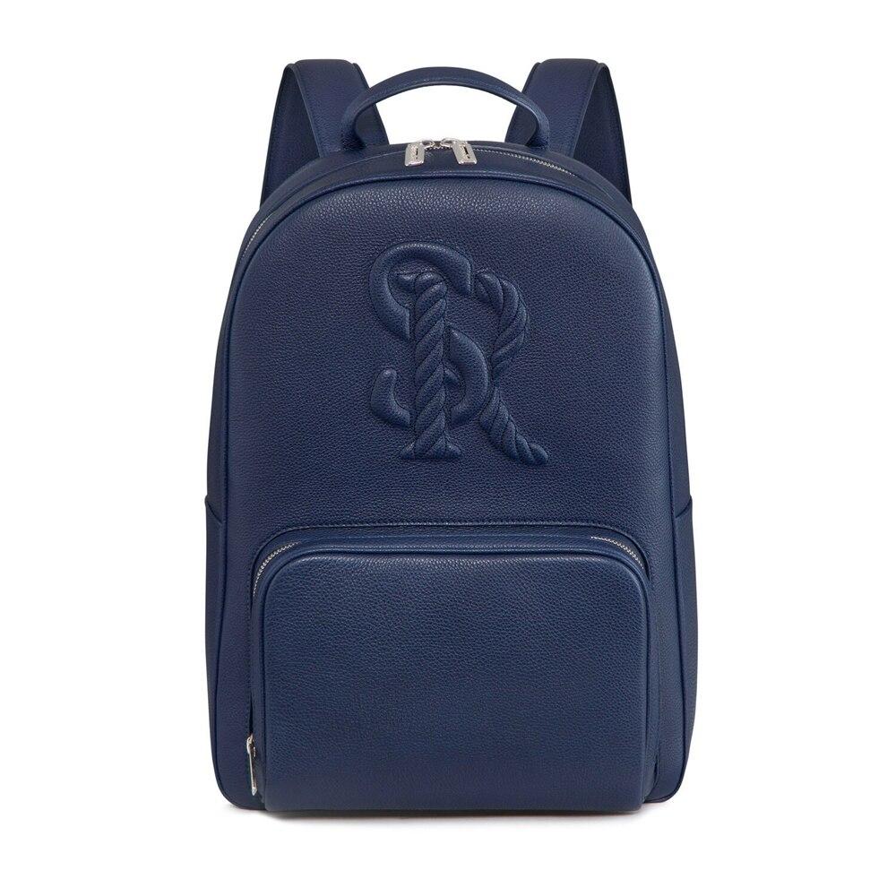Handmade calfskin backpack B049 Size: One Size