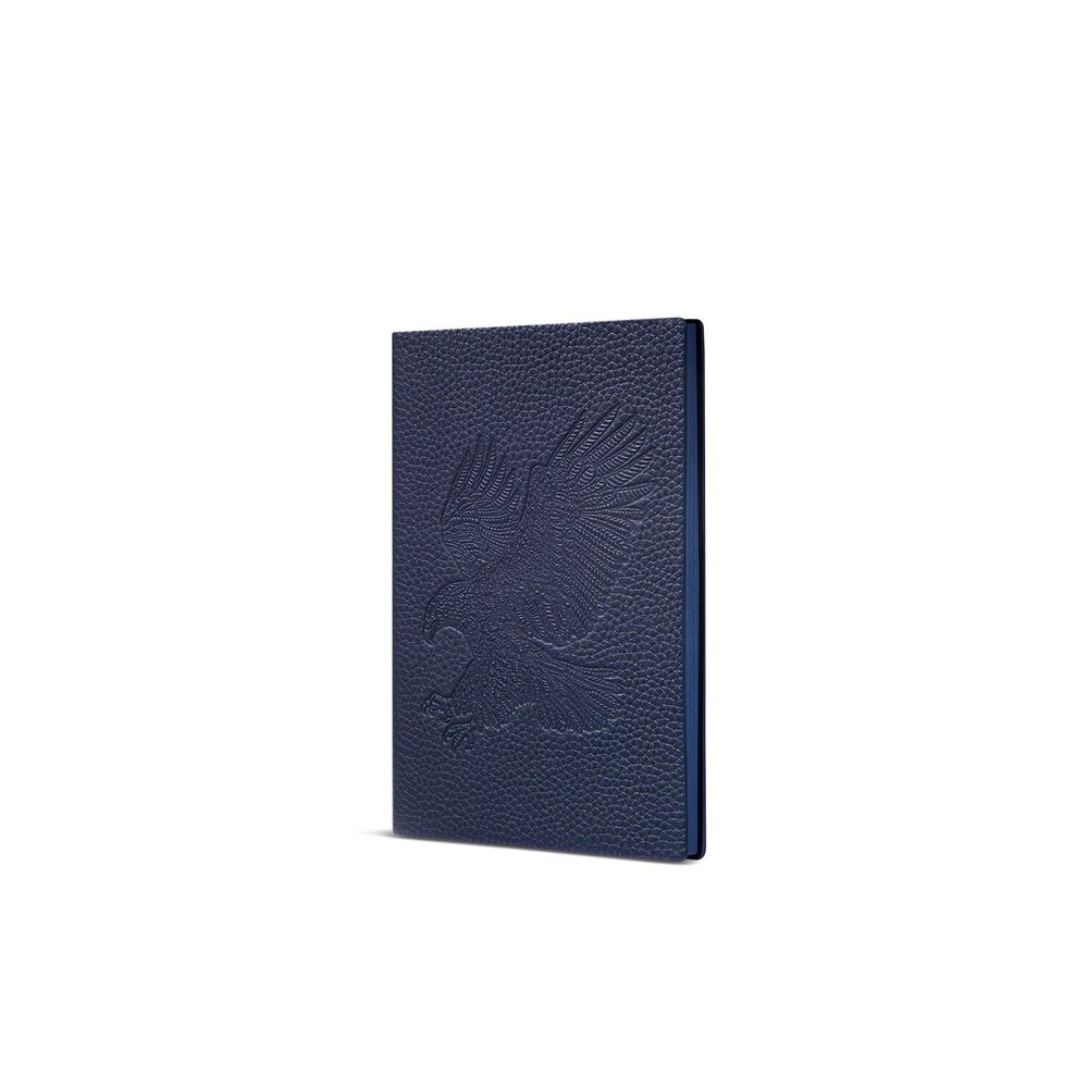 Handmade calfskin leather notebook Colour: B013 Size: One Size