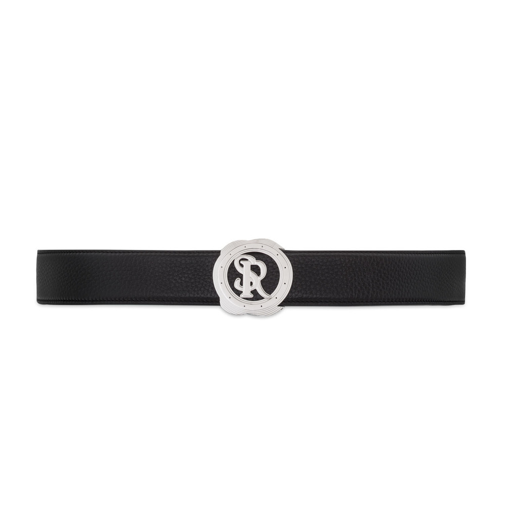 Handmade Deerskin Leather Belt Colour: N999 Size: 90