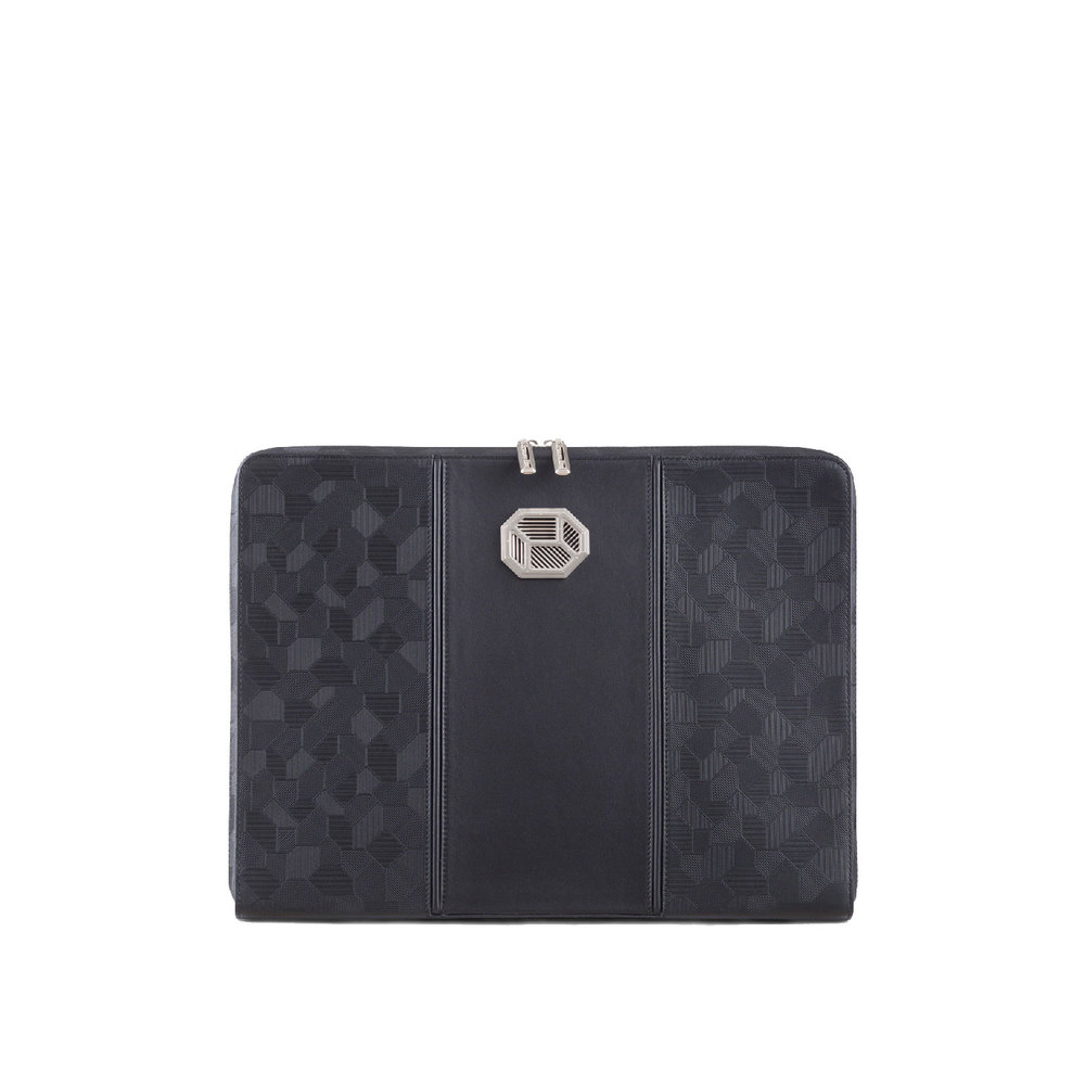 HANDMADE EMBOSSED CALFSKIN IPAD CASE