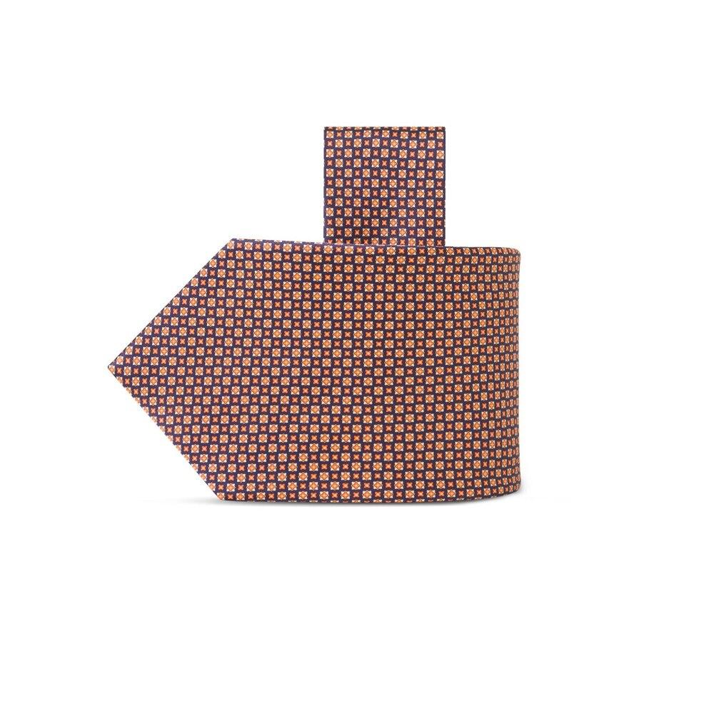 Cravatta in seta stampata a mano Size: One Size