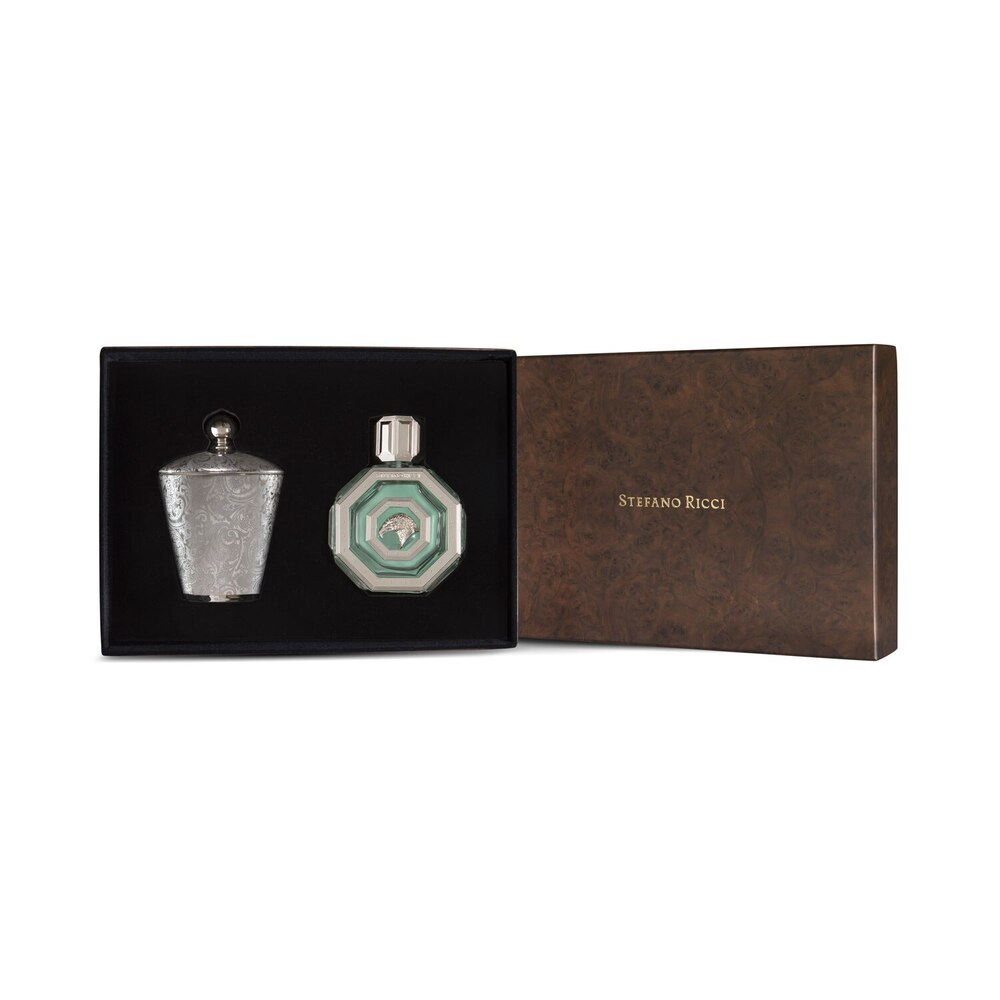 Gift set 'Royal Eagle Silver' edp & scented candle Colour: 0 Size: 100 ml