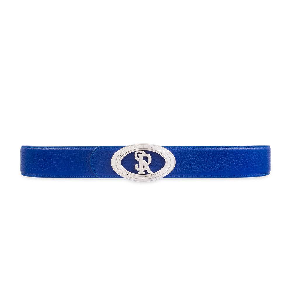 Calfskin leather belt Colour: B057 Size: 110