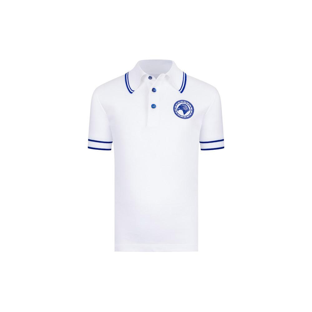 Three Button Polo Colour: Y20297_4100 Size: 6