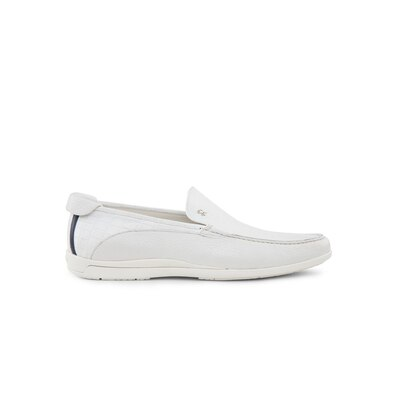 Casual deerskin and crocodile loafers Colour: W000 Size: 5