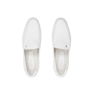 Casual deerskin and crocodile loafers Colour: W000 Size: 10