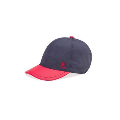 Silk and deerskin baseball cap SET1SK_B001 Size: 58