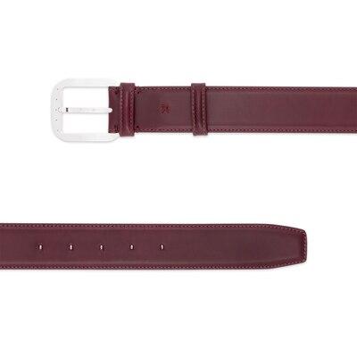Handmade calfskin belt Colour: P016 Size: 100